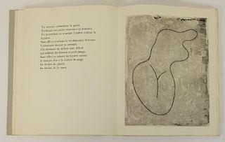 "ARP, Jean. ""Vers le Blanc Infini"" 1960."