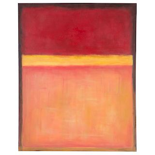 After Mark Rothko, Untitled, acrylic on canvas