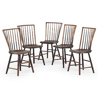 Rodback Windsor Chairs