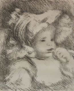 Pierre August Renoir lithograph