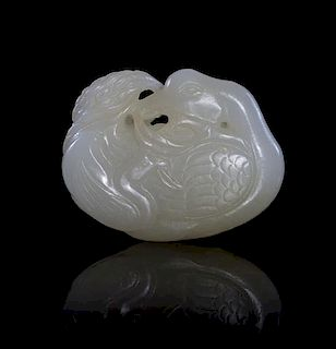 A Jade Toggle Width 2 inches.