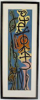 Paul Klee Modernist Imagination Fantasy Silkscreen