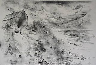 George Grosz lithograph