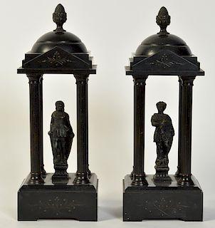 Pr. Grand Tour Neoclassical Sculptures