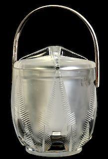 Lalique 'Rhodes' Ice Bucket