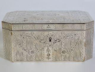 Gorham Sterling Hallmarked Jewelry Box