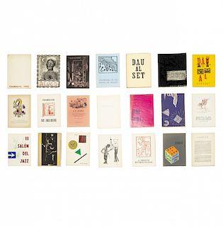 Collection of 23 issues of the magazine Dau al Set (Barcelo Colección de 23 números de la revista Dau al Set (Barcelona