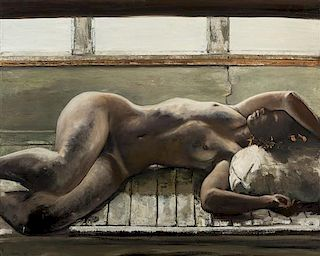 * C. Walker, (20th century), Untitled, 1989