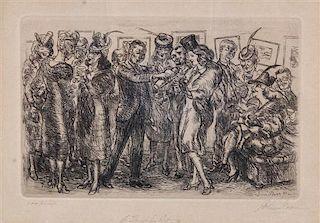 John Sloan, (American, 1871-1951), A Thirst for Art, 1939