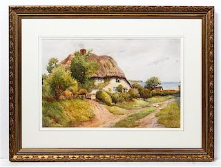 * Arthur Waters, (English, 19th/20th century), Cottage