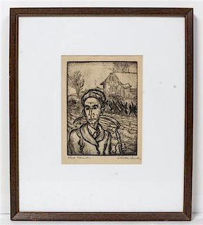 Dorothy Rutka, (American, 1907-1985), Ohio Farmer