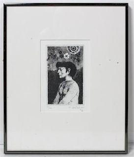 Federico Castellon, (American, 1914-1971), Untitled