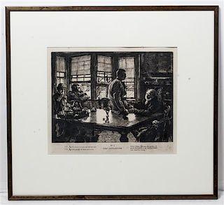 James Jacques Joseph Tissot, (French, 1836-1902), The Departure