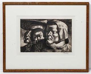 Federico Castellon, (American, 1914-1971), The Family