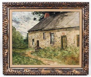 Franklin B. De Haven, (American, 1856-1934), Stone House Portrait, 1903