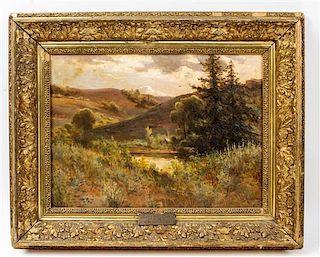 Georgiana L'Aubiniere, (British, 1848-1930), Untitled (Estes Park, Colorado)
