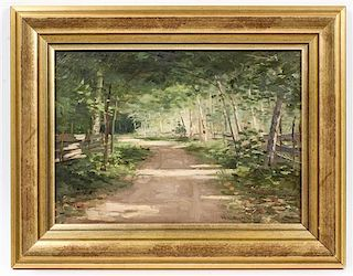 Nathaniel Leander Berry, (American, 1859-1929), Woodland Road
