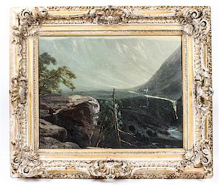 Artist Unknown, (20th century), Western Canyon