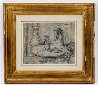* Artist Unknown, (20th century), Interior