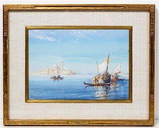 Wilfred Knox, (British, 1884-1966), St. George's Island