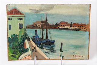 * Ernest Fiene, (American, 1894-1965), Venice #2