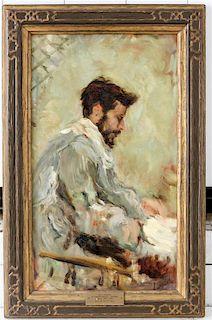 * After Joaquin Sorolla Y Bastida, (20th century), Reproduction of a Self Portrait