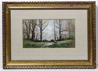 Carl Philipp Weber, (American, 1849-1922), Spring