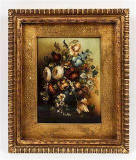 Artist Unknown, (Belgian, 20th century), Still Life with Flowers