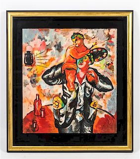 Sandro Chia, (Italian, b. 1946), Bread/Wine