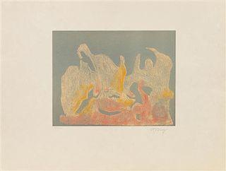 * Mark Tobey, (American, 1890-1976), The Awakening Dawn