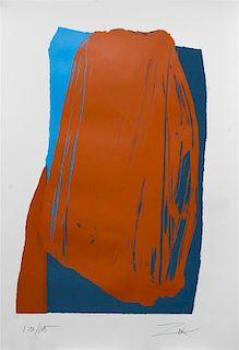* Larry Zox, (American, 1937-2006), Moro I, 1981