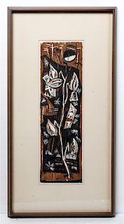 Werner Drewes, (American/German, 1899-1985), Untitled