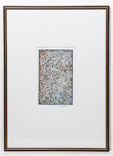 Mark Tobey, (American, 1890-1976), Pensees Germinales