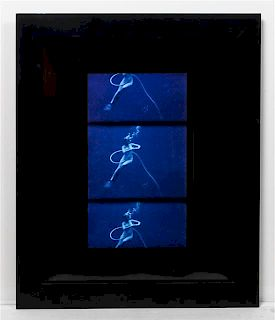 * Marianne Courville, (20th/21st century), Untitled (Blue Lady), 1970