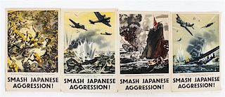 * A Group of Four WWII Posters Largest 29 1/8 x 20 inches.