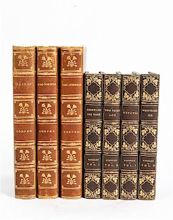 * [BINDINGS] A group of bindings - 2 works in 20 volumes