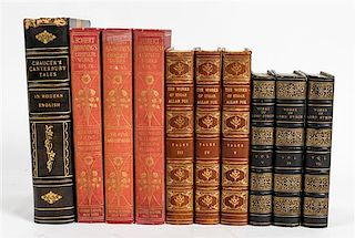 * [BINDINGS] A group of bindings, multiple works in volumes