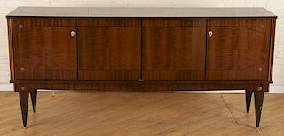 ART DECO STYLE FRENCH ROSEWOOD SIDEBOARD C.1950
