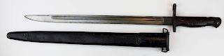 rare WWI US Remington long bayonet