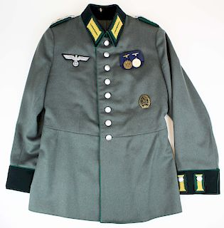 WWII German Wehrmacht Army parade tunic & medals