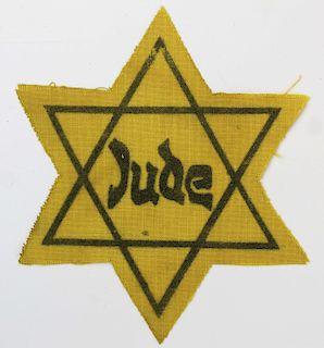 WWII German Star of David Dachau 1943