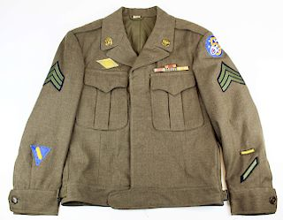 WWII US 5th Army Air Corps Ike jacket