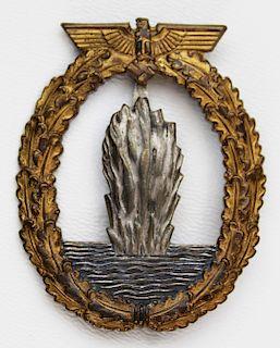 WWII German minesweeper badge