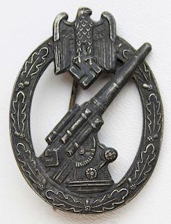 WWII German Wehrmacht Flak badge