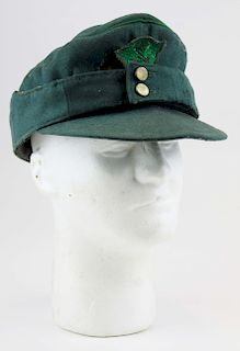 WWII German M43 Police field cap