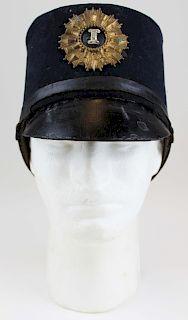 Civil War era Artillery Shako hat