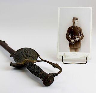 Civil War M1860 Field & Staff officer's sword