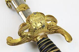 early 20th c Patriarchs Militant dress sword