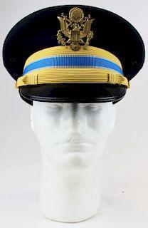 US Army dress visor cap