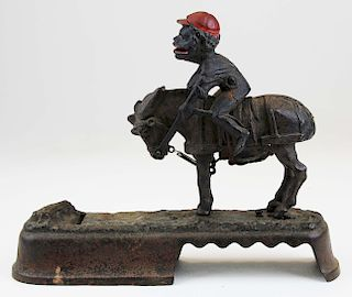 Always Did 'Spis a Mule mechanical bank